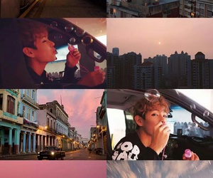 Collage, edit, and v image