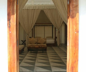 hotel, luxury, and tents image