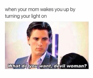 funny, Devil, and mom image