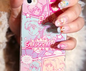 anime, kawaii, and phone image