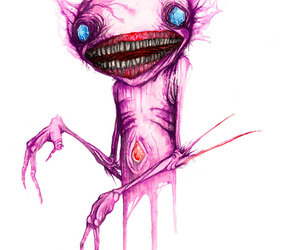 horror, teeth, and sableye image