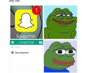 funny, snapchat, and pepe image