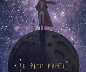 art, drawing, and le petit prince image