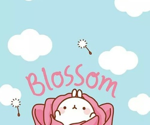 cute, kawaii, and blossom image