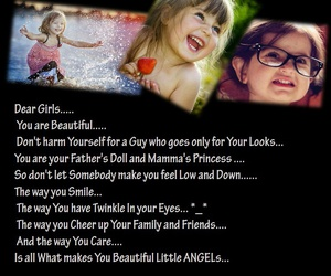 angels, girls, and quote image