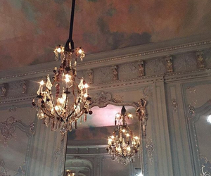 chandelier and rich image