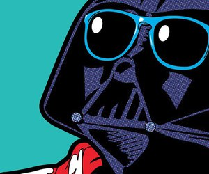 darth vader, pop art, and star wars image