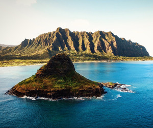 Island, ocean, and paradise image