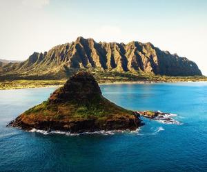 Island, sea, and ocean image
