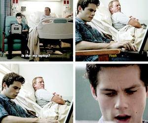 teen wolf, stiles, and dylan obrien image