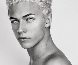 model, boy, and lucky blue smith image