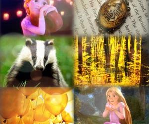 disney, hogwarts, and hufflepuff image
