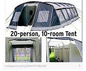 camping, funny, and haha image