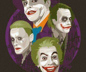 joker, batman, and suicide squad image