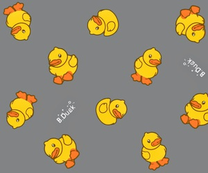 duck and yellow image