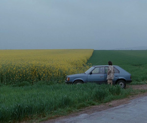 nature, car, and field image