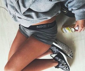 nike, fitness, and girl image