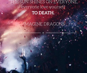 imaginedragons, i'msosorry, and smoke+mirrors image