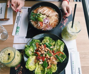 fitness, food, and ramen noodles image