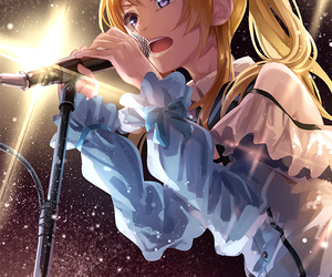 anime, singer, and love live image