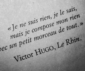 french, citation, and victor hugo image