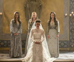 reign, wedding, and mary image