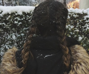braid, goals, and snow image