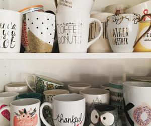 cup, mug, and coffee image