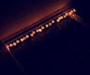 dim, lights, and night image