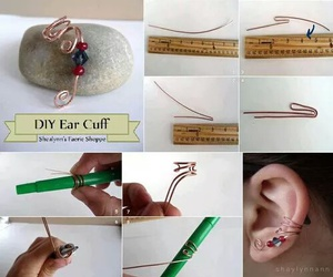 diy, ideas, and earring image
