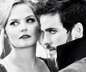 hook, once upon a time, and captain swan image