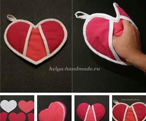 diy, heart, and tutorial image