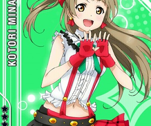 anime, chains, and green bow image