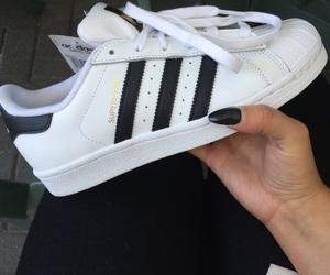adidas, girly, and nails image