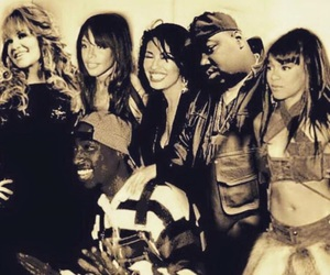 aaliyah, tupac, and biggie image