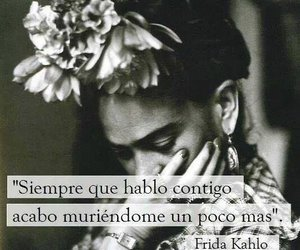 frida kahlo, frases, and Frida image