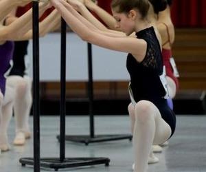 ballerinas, dance, and leotards image