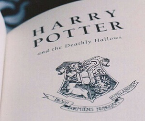 harry potter, header, and book image