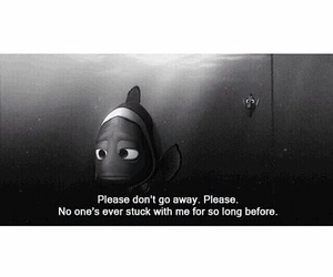 nemo, sad, and quote image