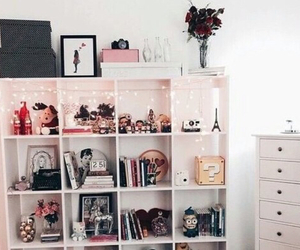 girl, decoration, and room image