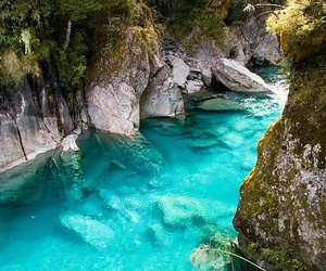 nature, water, and blue image
