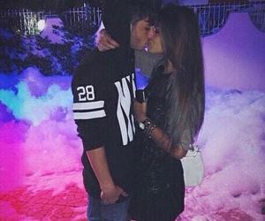 couple, boy, and kiss image