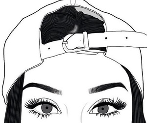 Outline Tumblr And Eyes Image