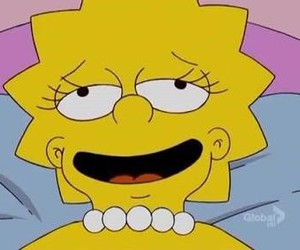 simpsons, drugs, and happy image