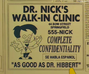 simpsons, doctor, and medicine image