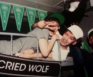 exo, baekhyun, and lay image