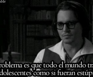 frases, adolescentes, and johnny depp image