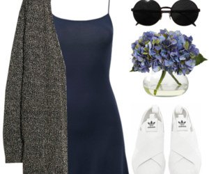 Polyvore, adidas, and clothes image