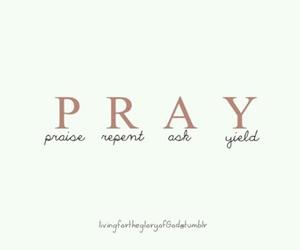 ask, faith, and god image