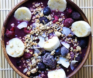 bowl, fruit, and breakfast image